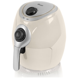 Swan SD90010CREN 3.2L Low Fat Air Fryer - Cream