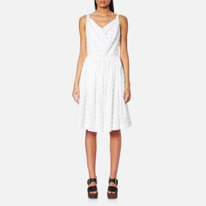 Vivienne Westwood Anglomania Women's Twisted Monroe Dress - Optical White