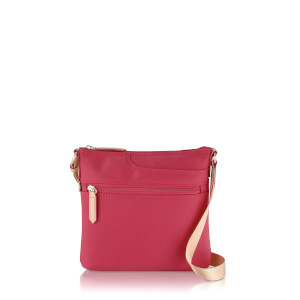 Radley Women's Pocket Essentials Small Zip Top Cross Body Bag - Pink