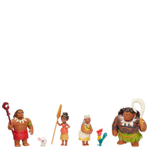 Disney Moana Adventure Doll and Action Figure Action Pack: Image 1