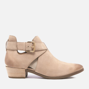 MICHAEL MICHAEL KORS Women's Mercer Suede Boots - Dark Khaki