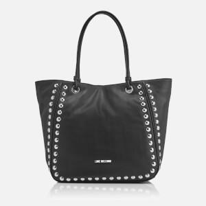 Love Moschino Women's Studs Tote Bag - Black