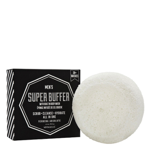 Spongelle Men's Body Wash Infused Super Buffer - Verbena Absolute