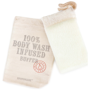 Spongelle Spongology Body Wash Infused Body Buffer - Lavender & Eucalyptus