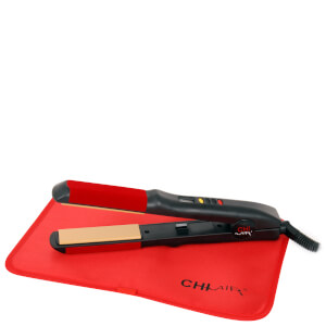 CHI Air Turbo Digital Microchip 1 Inch Ceramic Tourmaline Flat Iron - Black