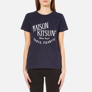 Maison Kitsuné Women's Royal T-Shirt - Navy