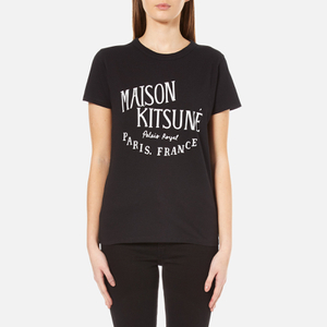 Maison Kitsuné Women's Palais Royal T-Shirt - Black