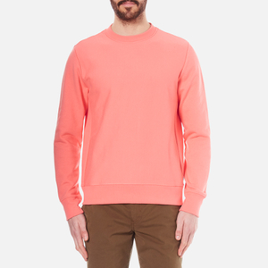 PS by Paul Smith Men's Plain Crew Neck Sweatshirt - Pink