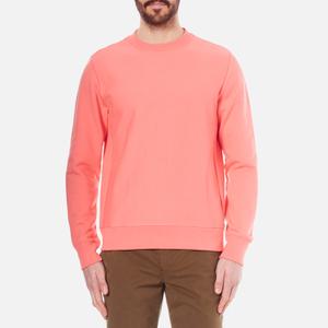 PS by Paul Smith Men's Plain Crew Neck Sweatshirt - Pink