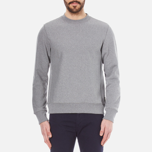 PS by Paul Smith Men's Plain Crew Neck Sweatshirt - Grey