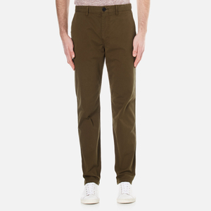 PS by Paul Smith Men's Tapered Fit Chinos - Khaki