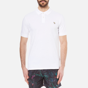 PS by Paul Smith Men's Regular Fit Zebra Polo Shirt - White