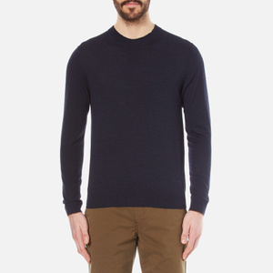 PS by Paul Smith Men's Crew Neck Knitted Jumper - Navy