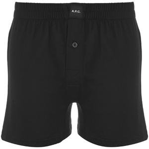 A.P.C. Men's Calecon Cabourg Boxers - Noir