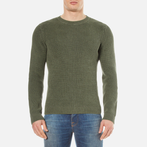 A.P.C. Men's Pull Anton Knitted Jumper - Khaki