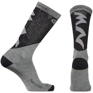 Northwave Extreme Pro High Socks - Grey/Black