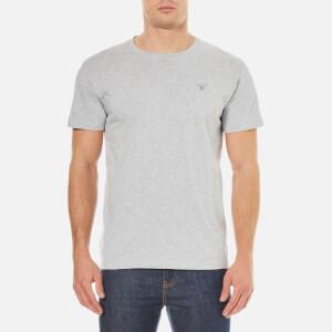 GANT Men's The Original T-Shirt - Light Grey Melange