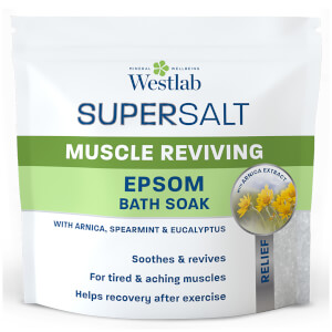 Sel d'Epsom Revitalisant pour le Bain Muscle Reviving Epsom Bath Soak Supersalt Westlab