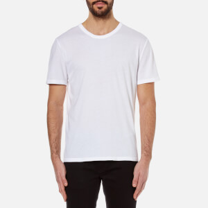 T by Alexander Wang Men's Classic Short Sleeve T-Shirt - White