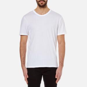 T by Alexander Wang Men's Classic Short Sleeve T-Shirt - White