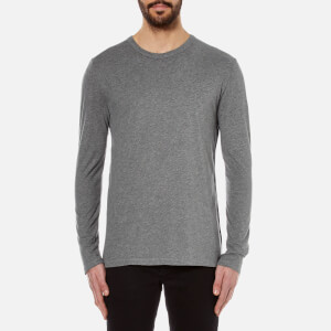 T by Alexander Wang Men's Classic Long Sleeve T-Shirt - Heather Grey