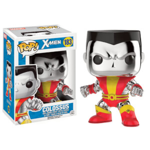 Marvel X-Men Chrome Colossus Figurine Funko Pop!