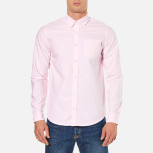 Carhartt Men's Long Sleeve Oxford Shirt - Vegas Pink