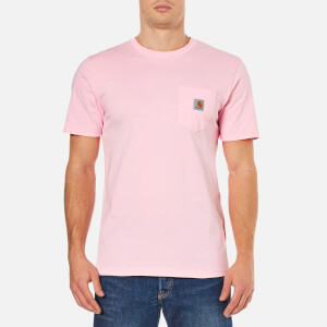 Carhartt Men's Short Sleeve Pocket T-Shirt - Vegas Pink
