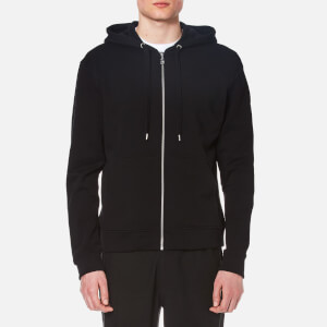 KENZO Men's Back Logo Zip Hoody - Black