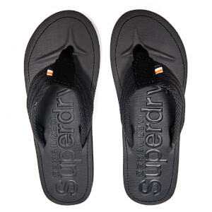 Superdry Men's Cove Toe Post Sandals - Black