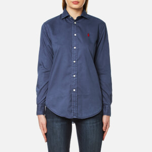 Polo Ralph Lauren Women's Rx Est Long Sleeve Shirt - Newport Navy