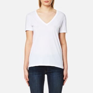 Polo Ralph Lauren Women's V Neck T-Shirt - White