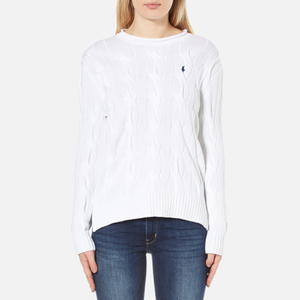 Polo Ralph Lauren Women's Boxy Rollneck Jumper - White