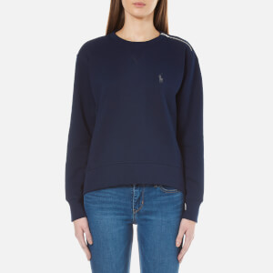 Polo Ralph Lauren Women's Crew Neck Sweatshirt - Cruise Navy