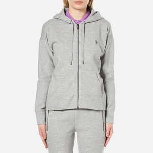 Polo Ralph Lauren Women's Full Zip Hooded Top - Andover Grey