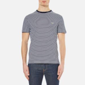 Lacoste Men's Striped T-Shirt - Navy