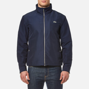Lacoste Men's Zipped Rain Jacket - Navy