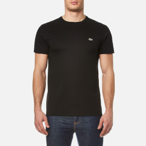Lacoste Men's Basic Crew Neck T-Shirt - Black