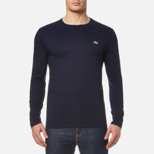 Lacoste Men's Long Sleeve T-Shirt - Navy