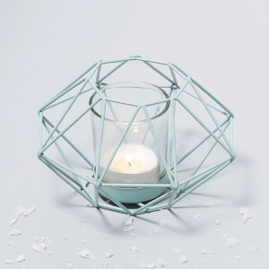 Geo Candle Holder - Green