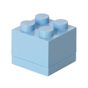 LEGO Mini Box 4 - Light Royal Blue