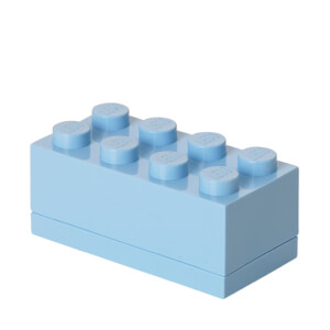 LEGO Mini Box 8 - Light Royal Blue