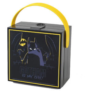 Porta alimentos Lunch Box con Asa LEGO Batman - Negro
