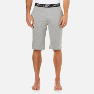 Polo Ralph Lauren Men's Branded Waistband Lounge Shorts - Grey Heather