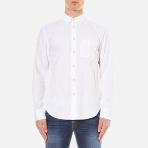 rag & bone Men's Standard Issue Beach Shirt - White