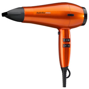 BaByliss PRO Spectrum Hair Dryer - Orange Flame