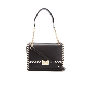 Karl Lagerfeld Women's K/Whipstitch Handbag - Black