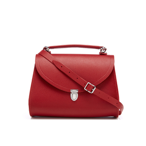The Cambridge Satchel Company Women's Poppy Bag - Red Saffiano