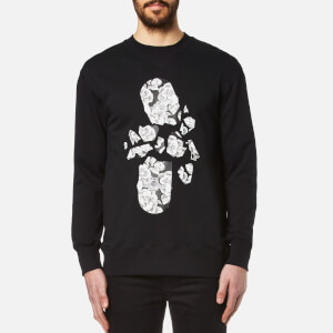 MSGM Men's Skate Logo Sweatshirt - Black