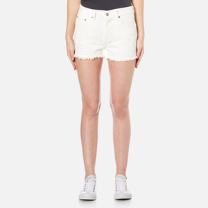 Levi's Women's 501 Denim Shorts - With the Band